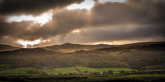 12th October 2017 (Rob Sutherland) Tags: eskdale howbank river esk birkby fell trees wood woodland farm buildings agriculture agricultural storm stormy sky dark forboding autumn lakedistrict ldnp lakes nationalpark cumbria england cumbrian english uk britain british panorama panoramic landscape