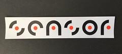 Sensor logo sticker (Logo Legacy) Tags: logodesign concept techno sticker logotype logo sensor brand