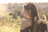 Nature Thoughts (Daniele Pauletto) Tags: backlight light nature landscape model girl fashion sensual goldenhour hope modella shoulders beauty bellezza dpphotography