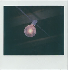 Lumen (m.ashe7) Tags: polaroid spectra integralfilm impossibleproject instantfilm light closeup lightbulb