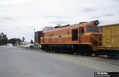 2655 X1025 repaint Forrestfield 29 December 1981 (RailWA) Tags: railwa philmelling westrail 1981 x1025 repaint forrestfield