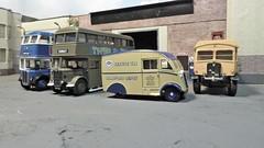 Bradford City Transport Ludlam St. Garage. (ManOfYorkshire) Tags: bct bradford bradfordcitytransport bus buses servicevan service vehicles breakdown aec matador rt efe ooc diecast oxforddiecast scale models 176 oogauge ludlamst garage depot