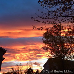 October 22, 2017 - An absolutely stuning sunet. (Cyndi Bustos Mulnix)