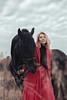 IMG_5085 (Katerina Dorohova) Tags: horse frieshorse blackhorse horses ladyinred photoshootwiththehorse autumn