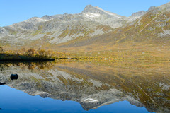 Reflection (TerjeLM) Tags: autumn fall høst kattfjordeidet kattfjordvannet speiling vann water