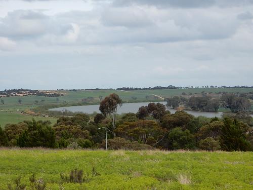 Overlooking a Murray Bend