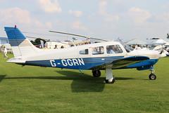 G-GGRN (GH@BHD) Tags: gggrn piper pa28 cherokee pa28r201 cherokeearrowiii laa laarally laarally2017 sywellairfield sywell aircraft aviation