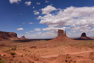 Monument Valley Navajo Tribal Park, Arizona, US August 2017 744