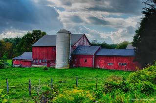 Historic Rural Barn Goshen Connecticut