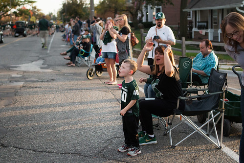 MSU Homecoming Parade, October 2017