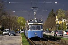 50 Jahre P-Wagen: Alles Gute 2005! (Frederik Buchleitner) Tags: 2005 3004 linie15 munich münchen pwagen strasenbahn streetcar tram trambahn