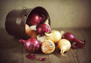 Don't cry over spilled onions