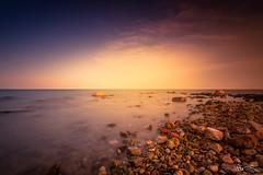 L'Ampolla Beach | Tarragona | Spain (jesbert) Tags: sony a7r2 canon 1740 ampolla beach tarragona sunset atardecer spain españa long exposure sea mar cataluña