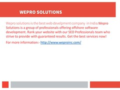 Wepro (bestofexmoor) Tags: best web design and development in india custom software php