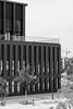 Stadthalle Reutlingen (Dixde - Photography) Tags: reutlingen badenwürttemberg deutschland germany wannweil stadthalle schwarzweis canon canoneos40d canonef50mmf18stm gebäude