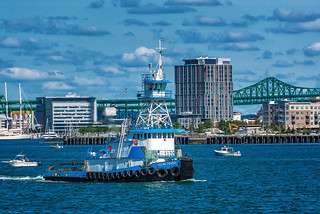 Dann Ocean Towing Tugboat Ocean Tower (in Boston MA)