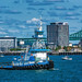 Dann Ocean Towing Tugboat Ocean Tower (in Boston MA)