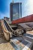 Schäbig Hübsch (isnogud_CT) Tags: centrodirezionale müll kaputt hochhaus neapel typisch italien rolltreppe