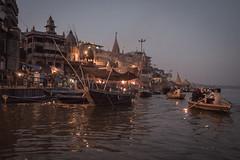 Varanasi - Ganges River - boat ghats-15