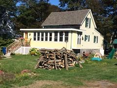 peaks.island :: woodpile (origamidon) Tags: cottage woodpile architecture welchst peaksisland maine me usa 04108 cumberlandcounty donshall origamidon