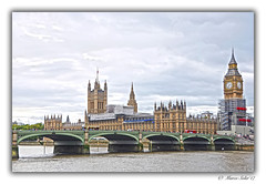Westminster (© Marco Antonio Soler ) Tags: nikon d80 jpg hdr iso londres london united kingdom ue europa europe westminster abadia tower torre landscape nubes clouds 2017 17 viaje holidays puente bridge