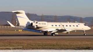 Gulfstream G650 UTAIR CARGO RA-10205 6114 Mulhouse décembre 2015