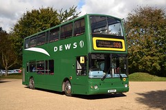 W114DOP Somersham 05/10/17 (MCW1987) Tags: dews somersham volvo west midlands b7tl 4114 w114dop plaxton president