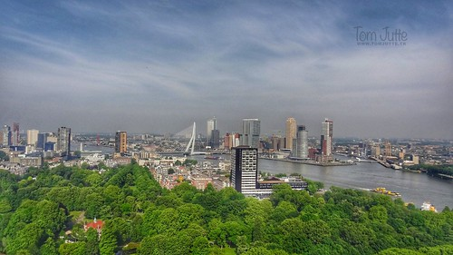 View from Euromast, Het Park, Rotterdam, Netherlands - 5275