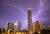 Lightning on Q1 (filipecastilhos) Tags: lightning night photography nightphotography goldcoast australia q1building q1 skyscraper queensland building architecture rain storm lightningstorm chuva relâmpago raio trovão tempestade