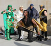 New York Comic Con 2017 - Mutants (Rich.S.) Tags: new york comic con convention nycc 2017 nyc cosplay namor polaris cyclops wolverine xmen