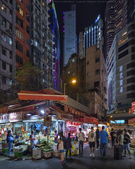 City Life (mikemikecat) Tags: hongkong nightscapes estates nostalgia house mikemikecat architecture stacked building colorful housing pattern 屋邨 抽象 建築 建築物 城市 天際線 戶外 block hong kong cityscapes street nightview night 夜景 香港 路 evening 建築大樓 twilight vintage nightscape 建築結構 基礎建設 market village 廣東道 laowa 75mm olympusomd 人 neonlights neon neonsign 霓虹燈 美食 攤檔 商店 灣仔 夜市 snapshot wanchai causewaybay