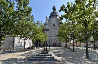 Provins (Seine et Marne) - Collégiale Saint-Quiriace (XIIe) (explore 22-10-17)