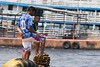 Tough port life (ramosblancor) Tags: humanos humans gente people tribus tribes favela chicos men tough duros puerto port cities ciudades manaos brasil brazil viajar travel retrato portrait
