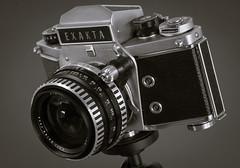 """""""V"""" is for Varex (fotostevia) Tags: 90mmf28 camera cameraporn exakta exaktavx1000 vintagecamera lowkey"""