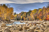 The Pemigewasset River in Autumn (macnetdaemon) Tags: foliage canon 7d markii hdr river bed whitemountains lincoln nh newhampshire autumnleaves