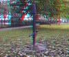 Öffentliche Wasserpumpe (rolfmarquardt) Tags: anaglyph stereo 3d rotgrün redcyan berlin marzahn wasserpumpe pumpe plumpe