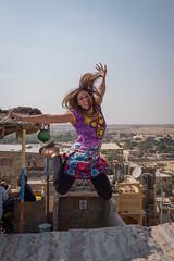 Rajasthan - Jaisalmer - Roof top restaurant-4
