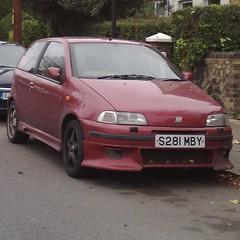 ☁ (uk_senator) Tags: 1998 fiat punto gt turbo burgundy mk1