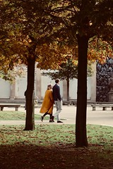 Garden Romance (emily hana) Tags: wish beautiful retro style couple park garden trip czech city lovely prague romantic romance love colours autumn
