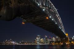 Sydney Harbour Bridge (Raymond.Ling.43) Tags: sony a7rii spring oct sydneyharbourbridge 雪梨港灣大橋 sydney nightscene harbour australia milsonspoint nsw 新南威爾斯州 newsouthwales bradfieldpark city