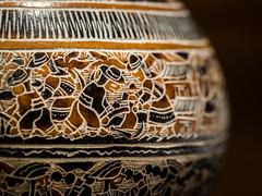 Peruvian Gourde (pierrednepr) Tags: macromondays souvenir olympus macro gourde peru