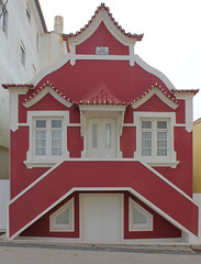 Costa Nova (hans pohl) Tags: portugal aveiro architecture houses maisons fenêtres windows portes doors