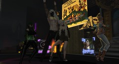 At the club (Fraz_Gloom) Tags: chillstep club sl second life party dancing nightlife