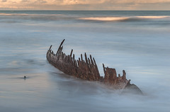 The Trinculo 90 Mile Beach (laurie.g.w) Tags: thetrinculo trinculo 90milebeach shipwreck coast shoreline seascape coastline surf wash wave water