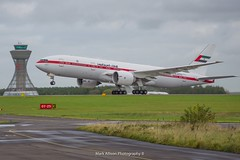 Abu Dhabi 777-200ER A6-ALN at Newcastle (Mark_Aviation) Tags: abu dhabi 777200er a6aln newcastle amiri flight royal visit crown prince bahrain 7772aner ncl egnt international airport 777 boeing heavy aircraft airplane air aviation airbus airlines aerospace aeroplane arriving airshow arrival af airways 772 77w b772 b77w