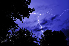 lightning (Peeb-OK) Tags: nature lightning light storm rain thunder weather night