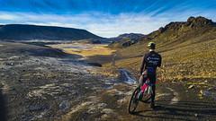 5 (Guðmundur Róbert) Tags: mountain bike mtb 29er iceland kleifarvatn cube cycling hjólreiðar reiðhjól hjól lg g4 landscape landslag autumn haust
