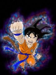 Kid Goku ultra instinct (jamesglina) Tags: glinajames jamesglina glina james digitalart digitalpainting digital painting painted paint drawn drawing draw illustration artwork art dragonball dragonballsuper z super ball dragon dbs dbz db kidgoku goku kid