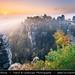 Germany - Saxony - Saxon Switzerland National Park -  Bastei at Autumn Sunrise
