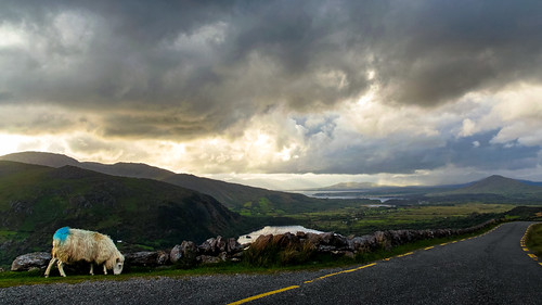 Healy Pass, Beara, Eire